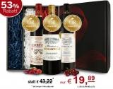 GOLD-TRIO als das besondere Weingeschenk! mit 53% Rabatt