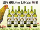 Gallina Verdejo 2016 9 Flaschen für nur 49,90€ statt 89,55€ mit -44%