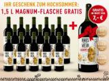 Hauswein Nr.1 Tinto – 15er + 1 Magnum 1,5L Gratis für nur 52,50€