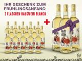 Hauswein Nr.2 Blanco 15 Flaschen +3 Flaschen Gratis für nur 67,50€ – Weißwein