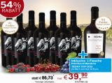 Vorteilspaket 7 Flaschen Il Divino Syrah + 1 Flasche SEDNA Primitivo di Manduria