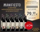Manifiesto – 12er für nur 79,00€ statt 131,40€ im 40% Sparangebot!