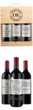 Goldmedaillen-Bordeaux-Weine in der Holzkiste (3er-Paket) bei Vinexus