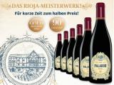 Palador Crianza 2014 – 6 Flaschen mit 50% Rabatt für nur 47,70€ statt 95,70€