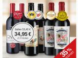 Prämierte Rotweine – 6er Paket für nur 34,95€ statt 53,40€