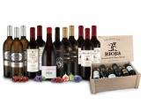 Auswahl großartiger Rioja-Weine als perfektes Geschenk