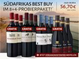 Südafrikas Best-Buy 8+4 Probierpaket mit 4 Flaschen gratis*! für nur 56,70€
