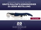 Silkes Weinkeller Jubiläum – Gratis Korkenzieher zu jeder Bestellung!