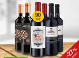 Spanische Weine im 6er-Paket für nur 29,95€ statt 40,88€ Sie sparen 26,74%