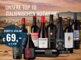Top 10 Italienische Rotwein Paket bei hawesko für nur 69,00€ statt 114,10€