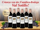Val Sotillo Crianza 2014 6er für nur 59,90€ statt 119,70€ mit -50%
