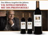 Val Sotillo Reserva 2012 3 Flaschen für nur 45,00€ statt 89,70€ mit -50%