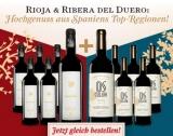 Vinebro Crianza 2013 + Osculum Crianza 2014 Mischpaket – 12 Flaschen für nur 79,90€ statt 161,40€