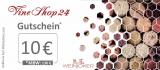 Exklusiver Vineshop24 Gutschein ☆ 10€ ☆ Gutschein für deine Wein Bestellung