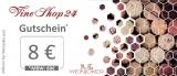 Exklusiver Vineshop24 Gutschein ☆ 8€ ☆ Gutschein für deine Wein Bestellung