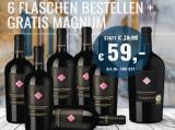2015 Zolla Primitivo Weinpaket 6 Fl. und 1 Magnumfl. für nur 59,00€ statt 79,30€