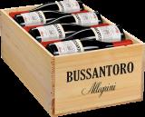 2015 Allegrini Bussantoro Rosso / Rotwein / Venetien Veronese IGT, 12er Holzkiste