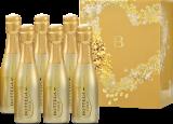 Mini-Gold / Sekt & Crémant / Venetien Bottega Piccolo Prosecco Gold, 6-er Set bei Hawesko