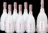 Champagne Carles VII Smooth Rosé Paket / Champagner / 6 Fl. + 1 Magnumfl.