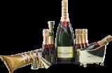 Champagne Moet & Chandon Evening Paket / Champagner / Champagner & Accessoires