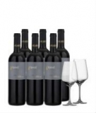 Grassl Zweigelt Rubin Carnuntum 6 Flaschen + 2 Gläser gratis