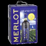 Grand Sud Merlot trocken 3L Bag in Box