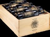 2020 Pulsato Primitivo di Manduria Vigne Vecchie / Rotwein / Apulien Primitivo di Manduria DOC, 12er Holzkiste bei Hawesko