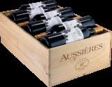 2019 Terre D'Aussières / Rotwein / Languedoc-Roussillon Pays d'Oc IGP, 12er Holzkiste bei Hawesko