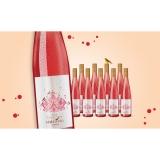 Malustra Rosado 2020  7.5L Halbtrocken Weinpaket aus Spanien bei Wein & Vinos