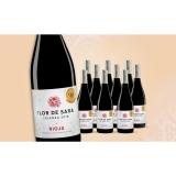 Flor de Sara Crianza 2018  7.5L Trocken Weinpaket aus Spanien bei Wein & Vinos